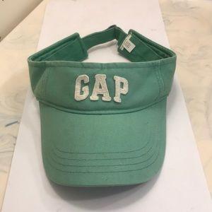 Gap Unisex Green Visor Adjustable Back Gently Wore